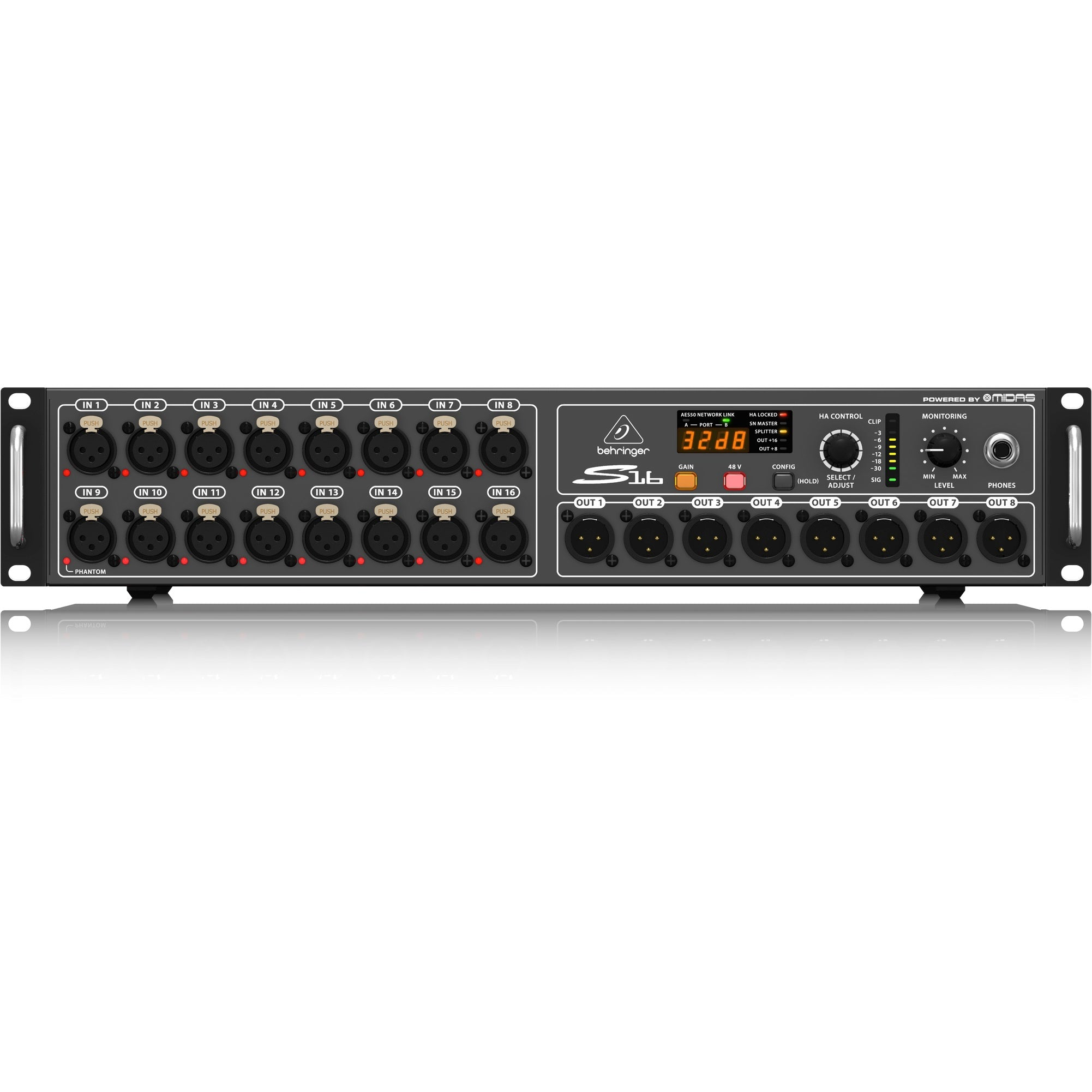 Behringer S16 Digital Snake I/O Interface Box | Music Experience | Shop Online | South Africa