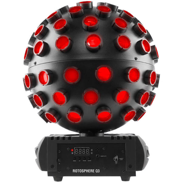 Chauvet DJ Rotosphere Q3 RGBW LED Mirror Ball Simulator Effect | Music Experience | Shop Online | South Africa