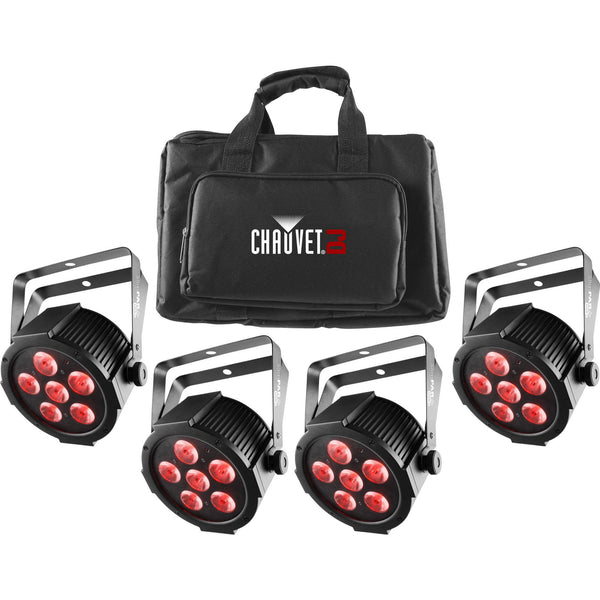 Chauvet DJ SlimPACK Q6 USB RGBA Par Package (4-pack) | Music Experience | Shop Online | South Africa