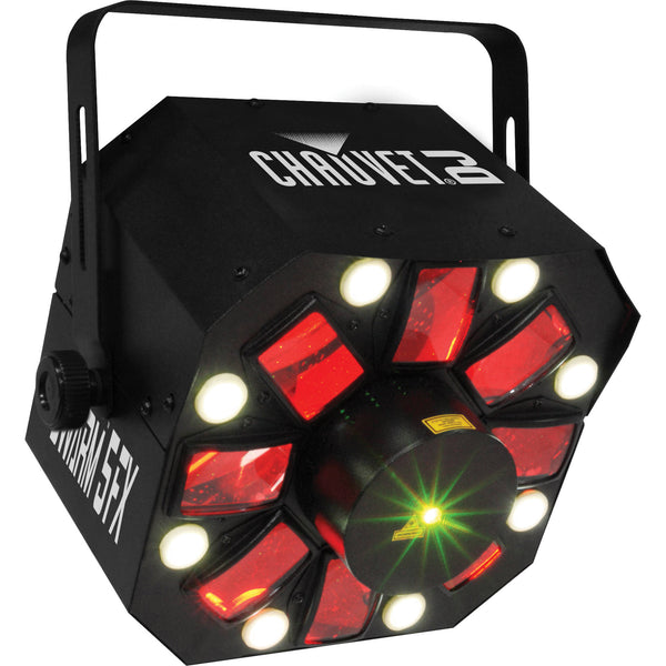 Chauvet DJ Swarm 5 FX 3-in-1 Derby/Laser/Strobe Multi Effect Light | Music Experience | Shop Online | South Africa