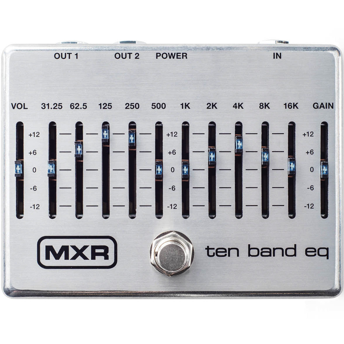 MXR M108S Ten Band EQ Pedal | Music Experience | Shop Online | South Africa
