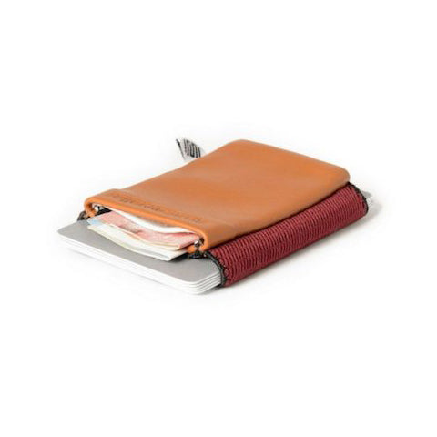 lenoor crown space wallet rose hazelnut cognac classic