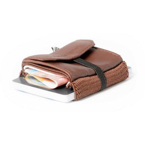 lenoor crown space wallet grizzly 2.0 pull