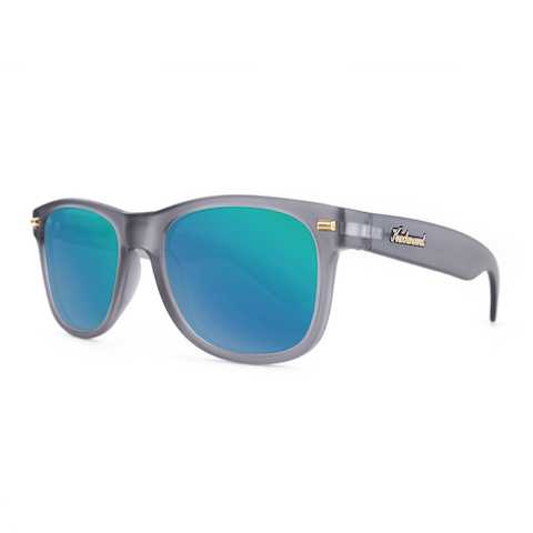 lenoor crown knockaround fort knocks sunglasses frosted grey green moonshine