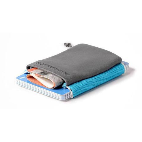lenoor crown space wallet surfer grey classic