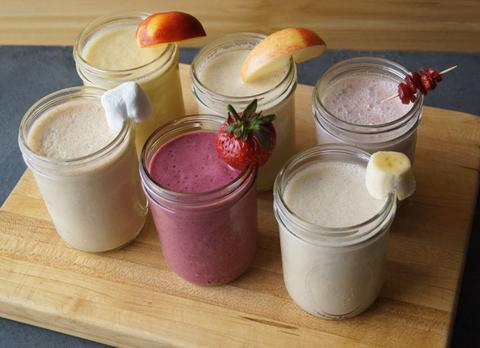 Six Flavorful Oatmeal Smoothies