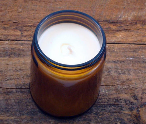 Sweet Honey in the Rock 9 Oz. Amber Glass Soy Candle