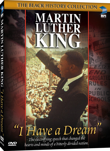 Martin Luther King: I Have a Dream - Box Art