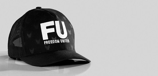 ARKANSAS FU MESH HAT BLACK