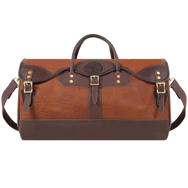 Bison Leather Sportsman's Duffel Accessories Duluth Pack Brown