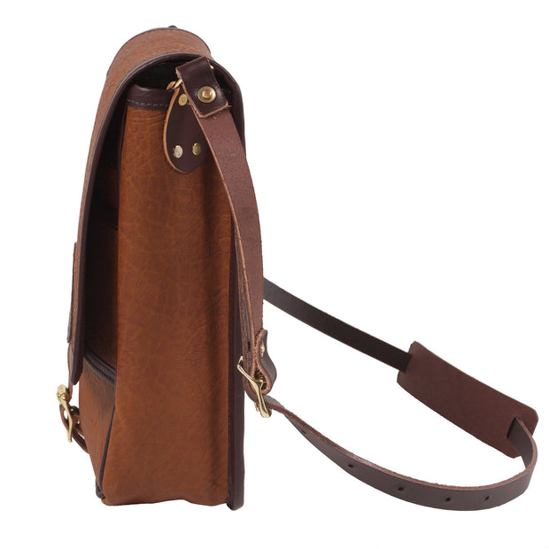 Bison Leather Haversack Bag Duluth Pack