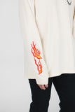 Paradise Lost Long Sleeve __ Creme