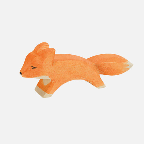 Handcrafted Small Running Fox