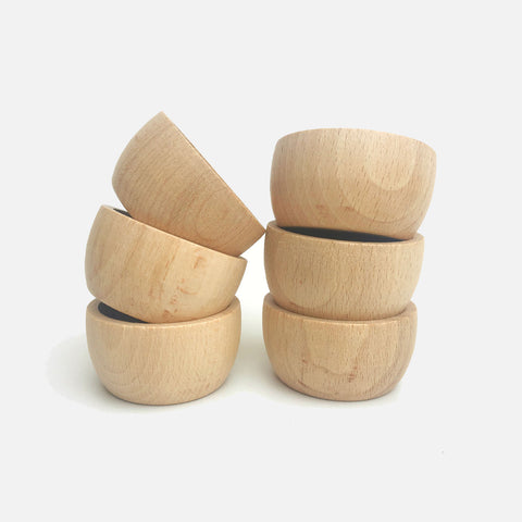 Wooden Bowls - 6 pieces
