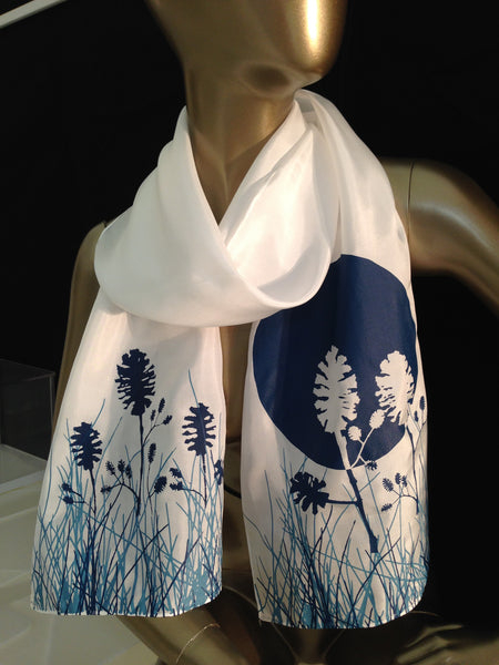 -Blue Moon Scarf