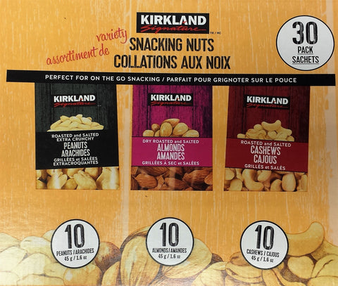 Kirkland Signature Snacking Nuts