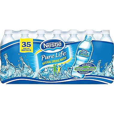 Water Bottles Nestle 35X