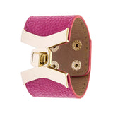 Stylish Leather Bracelet - Jewelry Buzz Box  - 3