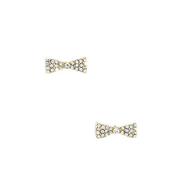 Crystal Ribbon Earrings - Jewelry Buzz Box  - 2