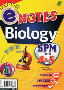 Revision Enotes: Biology form 4,5