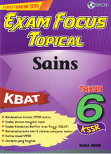 Load image into Gallery viewer, Exam Focus Topical: Sains Tahun 6