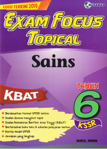Exam Focus Topical: Sains Tahun 6