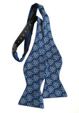 blue atoms bow tie