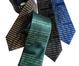 BASIC Code neckties, Cyberoptix