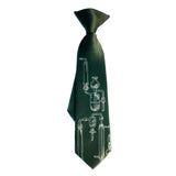 green chemistry lab glass clip-on tie