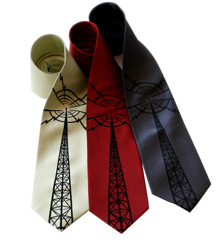 Radio Tower Necktie