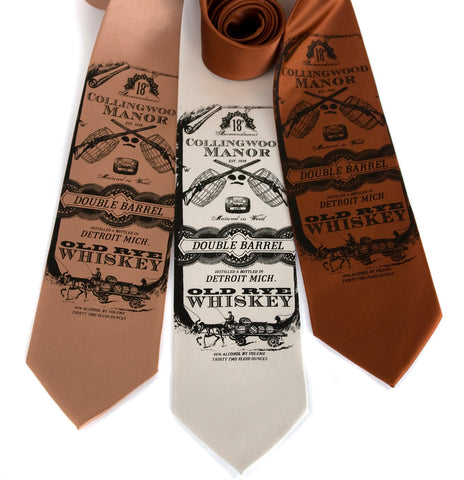 Whiskey Business Necktie
