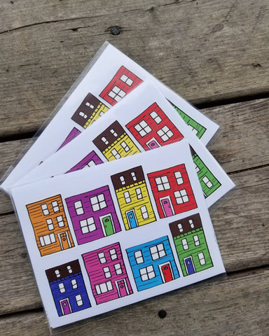Jellybean Row Stickers (2-pk)