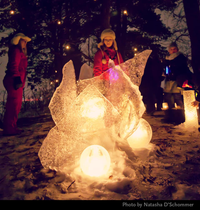 Enchanted Forest 2019 at the City of Lakes Luminary Loppet