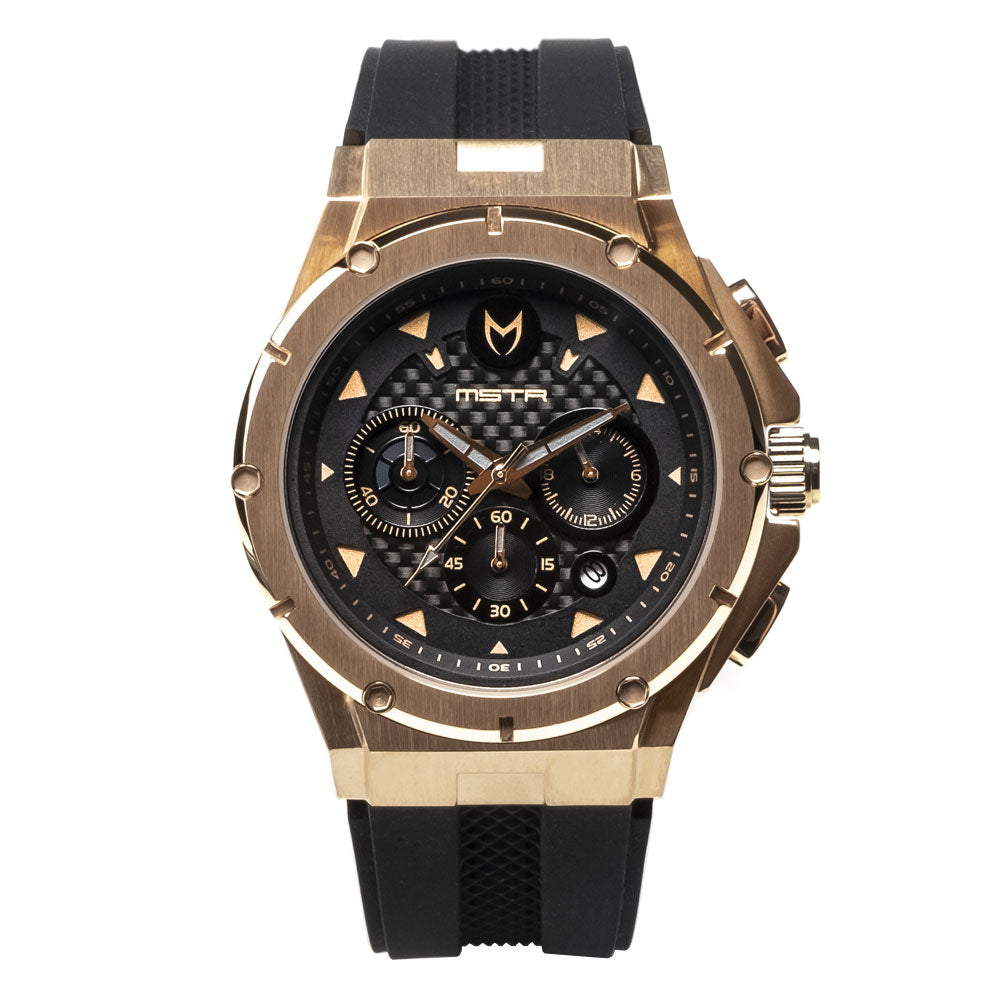 AM208RB - MK3 ROSE GOLD / BLACK CF / RUBBER BAND