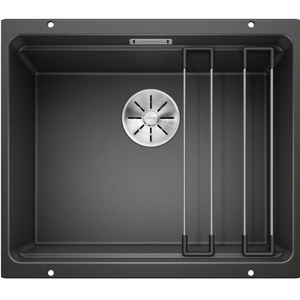 Blanco Silgranit Etagon 500-U 500 x 400mm Undermount - Black