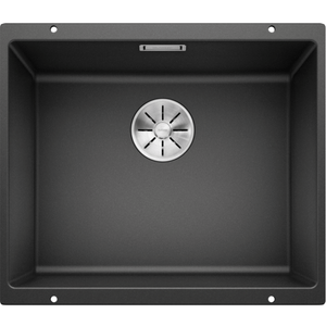 Blanco Silgranit Subline 500-U 500 x 400mm Undermount - Black