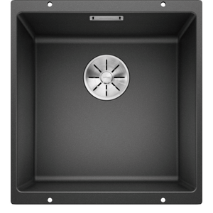 Blanco Silgranit Subline 400-U 400 x 400mm Undermount - Black