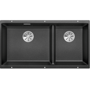 Blanco Silgranit Subline 480/320-U Undermount Double - Black