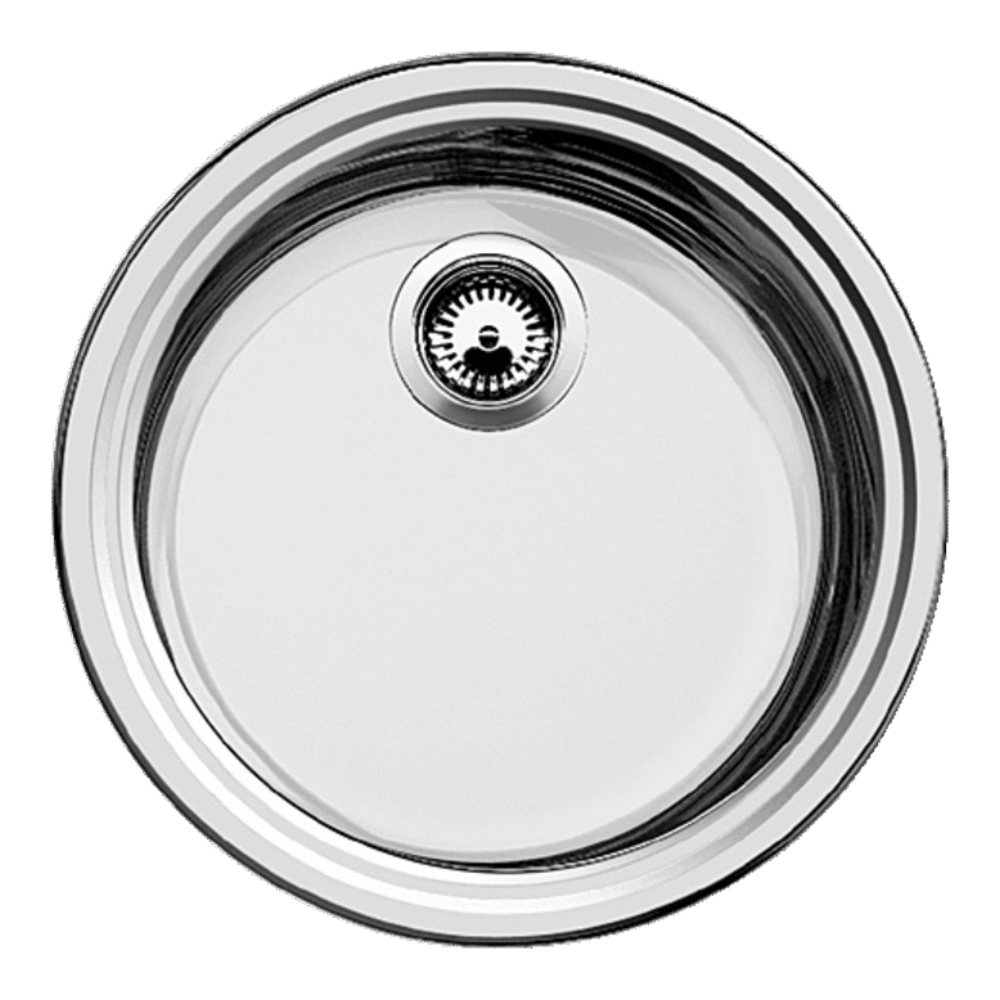Blanco Rondo Round Stainless Single Sink - 390mm