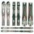 Used K2 A.M.P. Force Skis D
