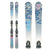 Used Volkl Kenja Womens Skis D