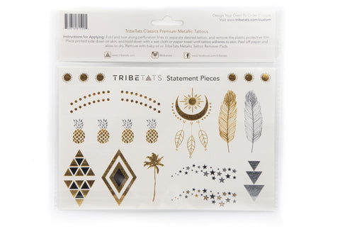 The Classics Collection | Metallic Tattoos Variety Set