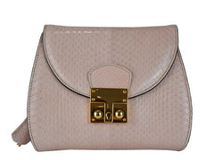 Papillon - Snakeskin Shoulder Bag