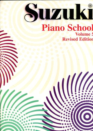 Suzuki Piano School:  Volume 5 (Revised Edition)