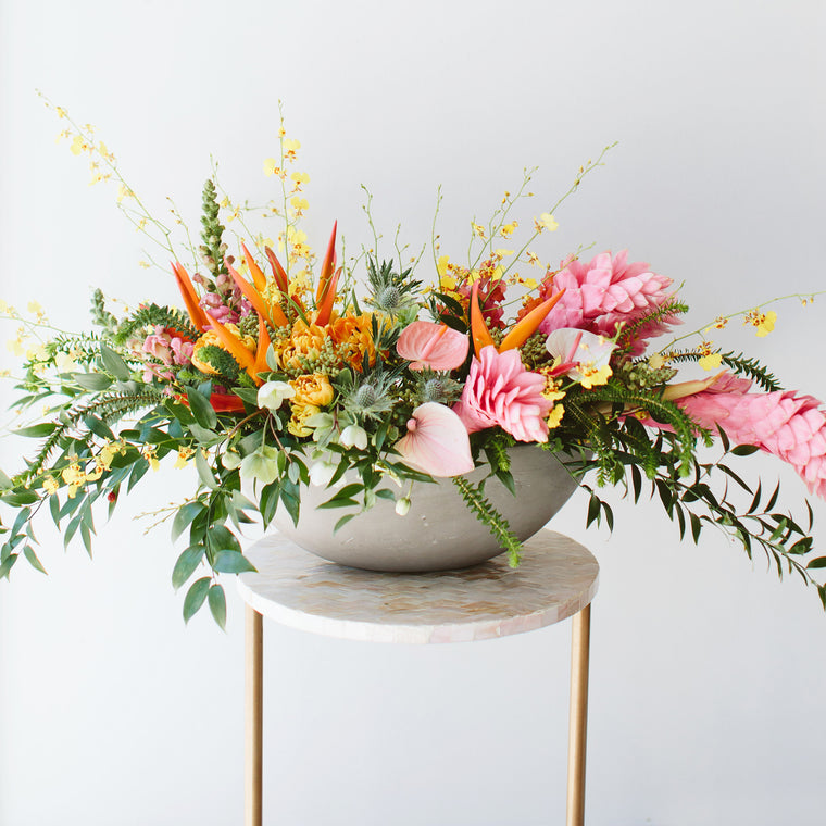 Long Lush & Wild Arrangement