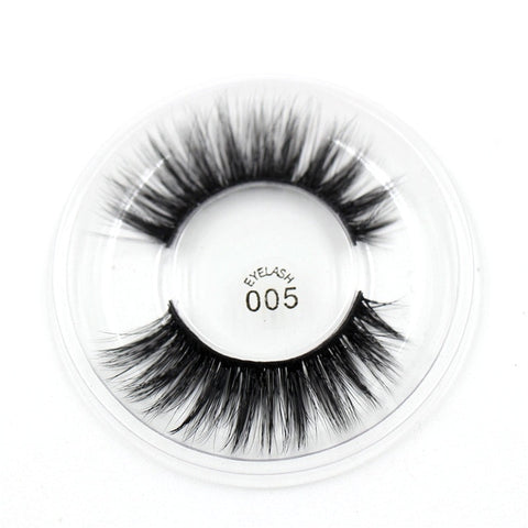 005 3D Silk False Eyelashes