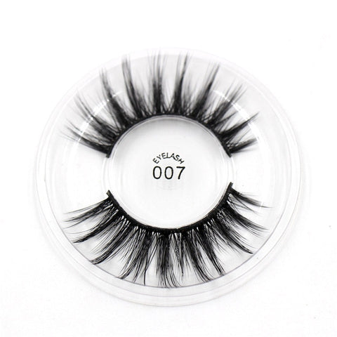 007 3D Silk False Eyelashes