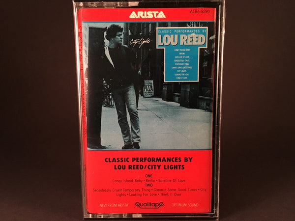 Lou Reed – City Lights (Classic Performances By Lou Reed) - BRAND NEW CASSETTE TAPE