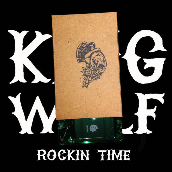 KING WOLF - rockin time - BRAND NEW CASSETTE TAPE