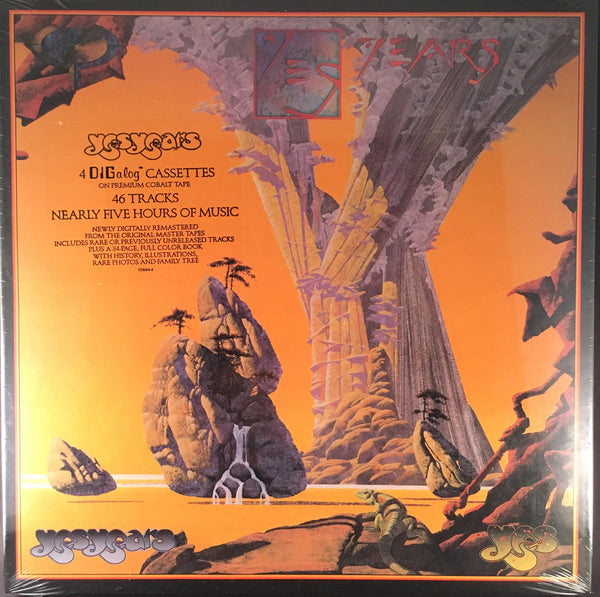 YES - YES YEARS - 4X TAPE BOX SET - BRAND NEW FACTORY SEALED